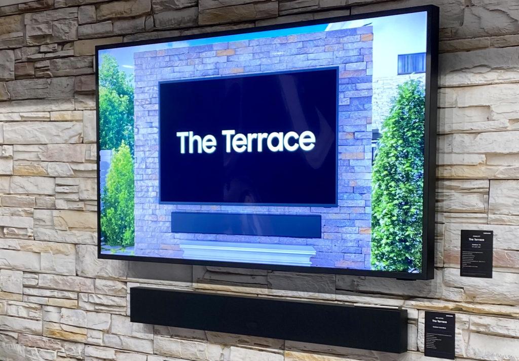 The Terrace aus der Nähe
