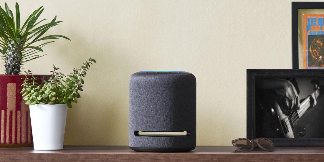 Amazon Echo Studio in Grau
