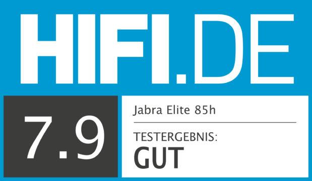 HIFI.DE Testsiegel für Jabra Elite 85h