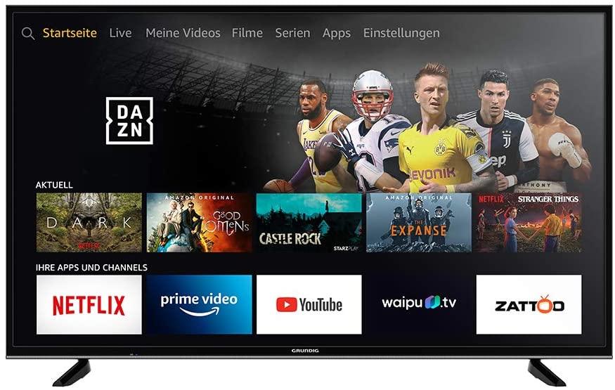 Bei der Fire TV Edition von Grundig ist Amazons Fire TV bereits integriert. |Bild: Grundig