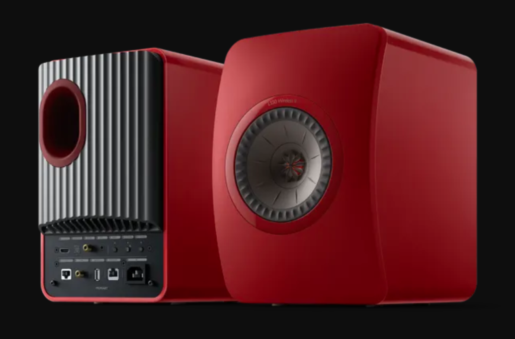 KEF LS 50 Wireless II Rot