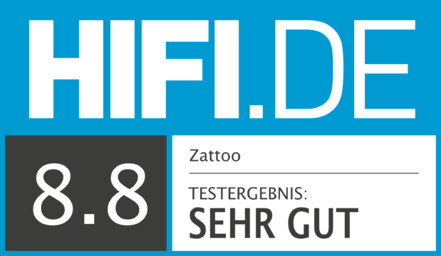 HIFI.DE Testsiegel für Zattoo