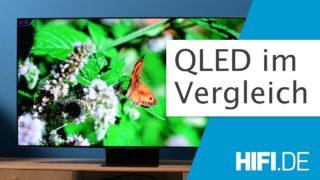 Video: QLED im Vergleich - Aktuelle QLED Modelle im Test