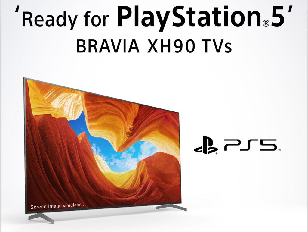 """Sony vermarktet seine TVs mit HDMI 2.1 sogar gezielt als """"Ready for PlayStation 5""""."""