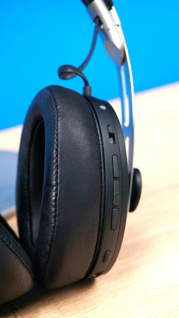 Sennheiser Momentum 3 Wireless. Bedienelemente