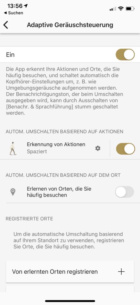 Adaptive Geräuscherkennung App