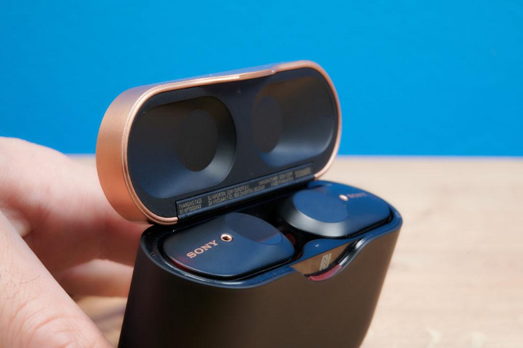 Sony WF-1000XM3 im Case