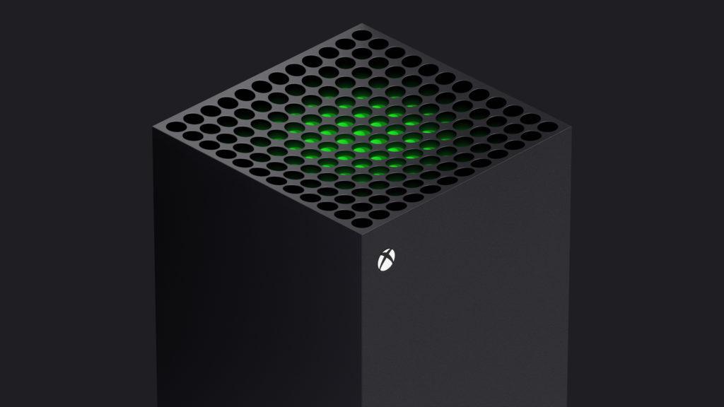 Die Xbox Series X nutzt ein Tower-Design mit massivem Lüfter an der Oberseite.