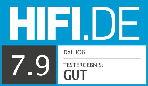 HIFI.DE Testsiegel für Dali iO6