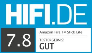 HIFI.DE Testsiegel für Fire TV Stick Lite