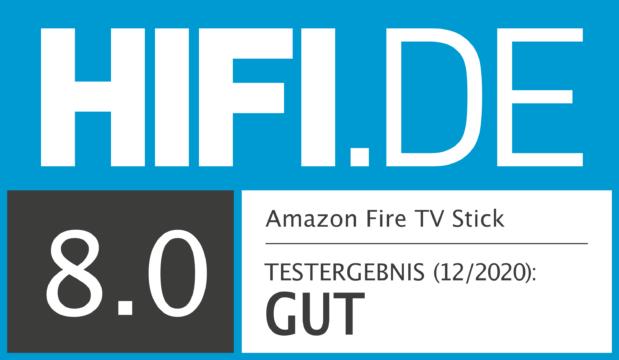 HIFI.DE Testsiegel für Fire TV Stick