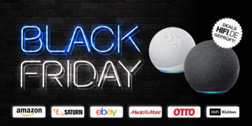 Black Friday 2020: Amazon Echo und Echo Dot heute bis zu 50% reduziert