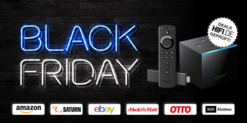 Black Friday 2020: Fire TV Sticks aktuell 50% reduziert