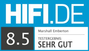 HIFI.DE Testsiegel für Marshall Emberton Test – Was kann der jüngste Spross der Marshall Familie?