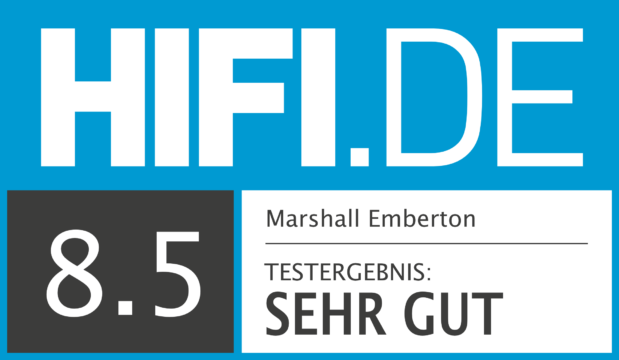 HIFI.DE Testsiegel für Marshall Emberton