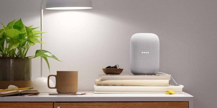 Google Assistant im Nest Audio Speaker