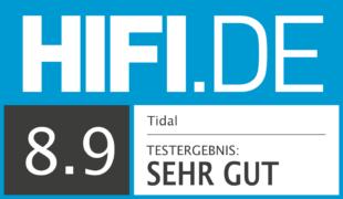 HIFI.DE Testsiegel für Tidal im Test – Was kann der HiFi Streamingdienst?