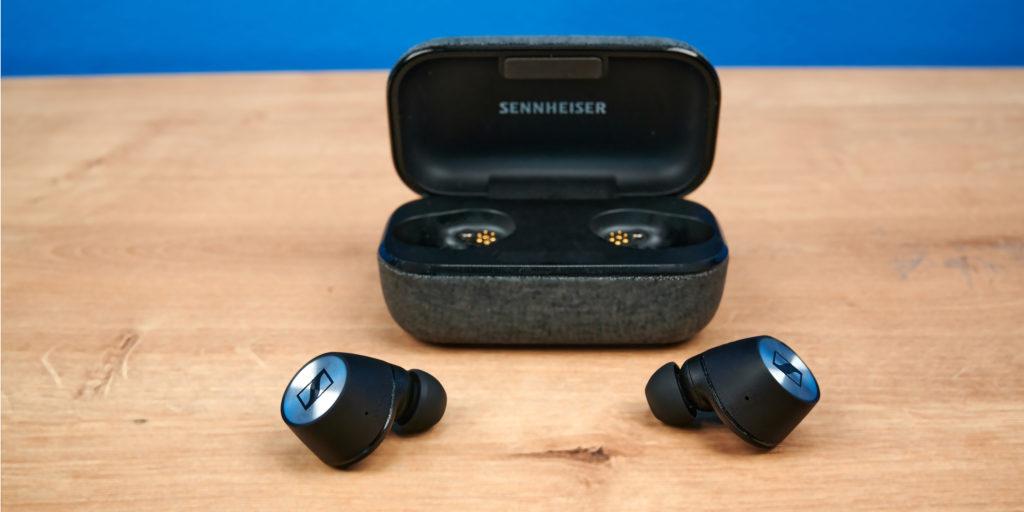 Die Sennheiser Momentum True Wireless 2 mit Case