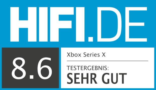 HIFI.DE Testsiegel für Xbox Series X
