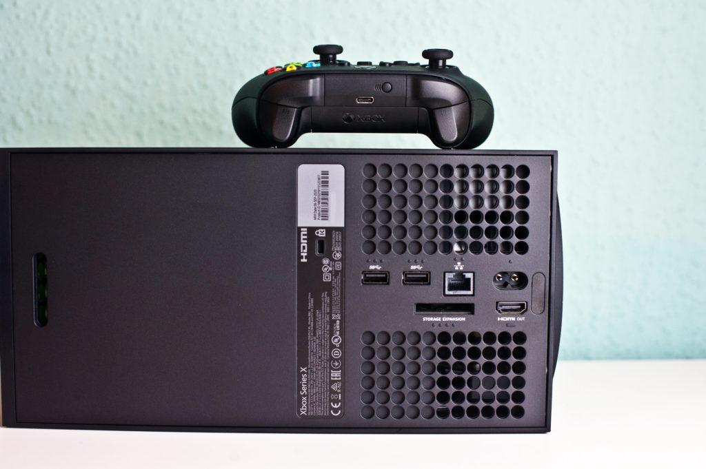 Die Xbox Series X bietet nur einen einzelnen HDMI-Eingang.