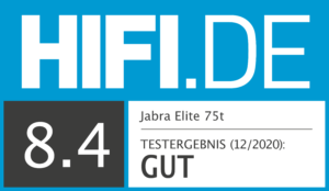 HIFI.DE-Testsiegel_TW-Kopfhoerer_Jabra Elite 75t