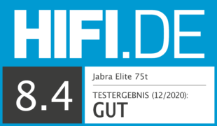 HIFI.DE Testsiegel für Jabra Elite 75t