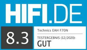 Technics EAH-F70N Test-Ergebnis bei HIFI.DE - GUT