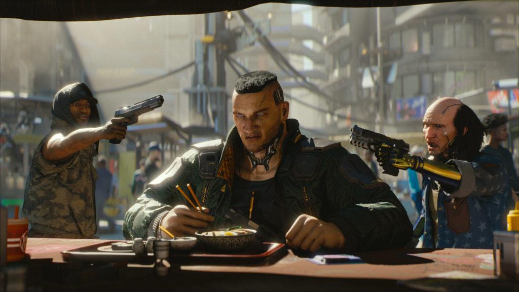 """""""Cyberpunk 2077"""" bietet an der Xbox Series X aktuell die beste Konsolenversion."""