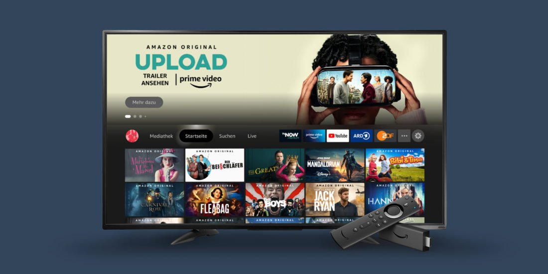 Amazon Fire TV –Neue Benutzeroberfläche bringt Benutzerprofile