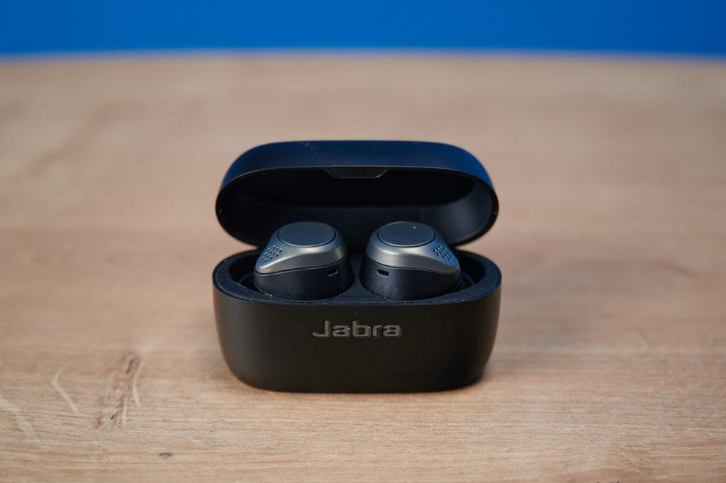 Das Ladecase der Jabra Elite 75t