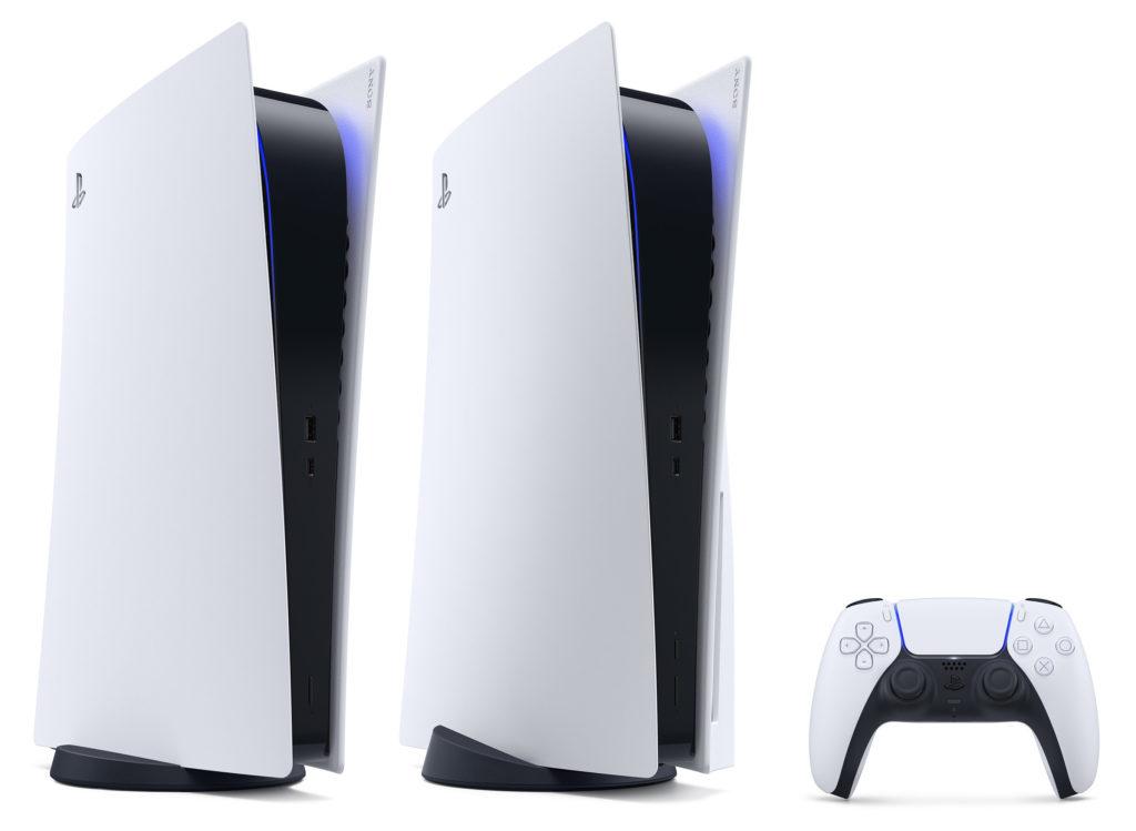Die Digital Edition der PlayStation 5 weicht nur durch das gestrichene optische Laufwerk ab.