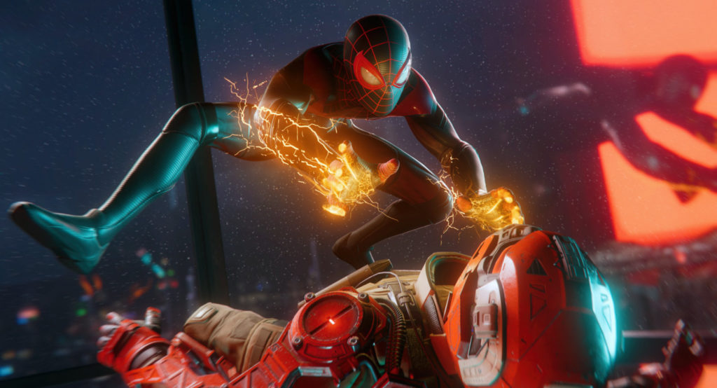 """Spider-Man: Miles Morales"" bietet Ray-Tracing-Reflexionen an der PlayStation 5."