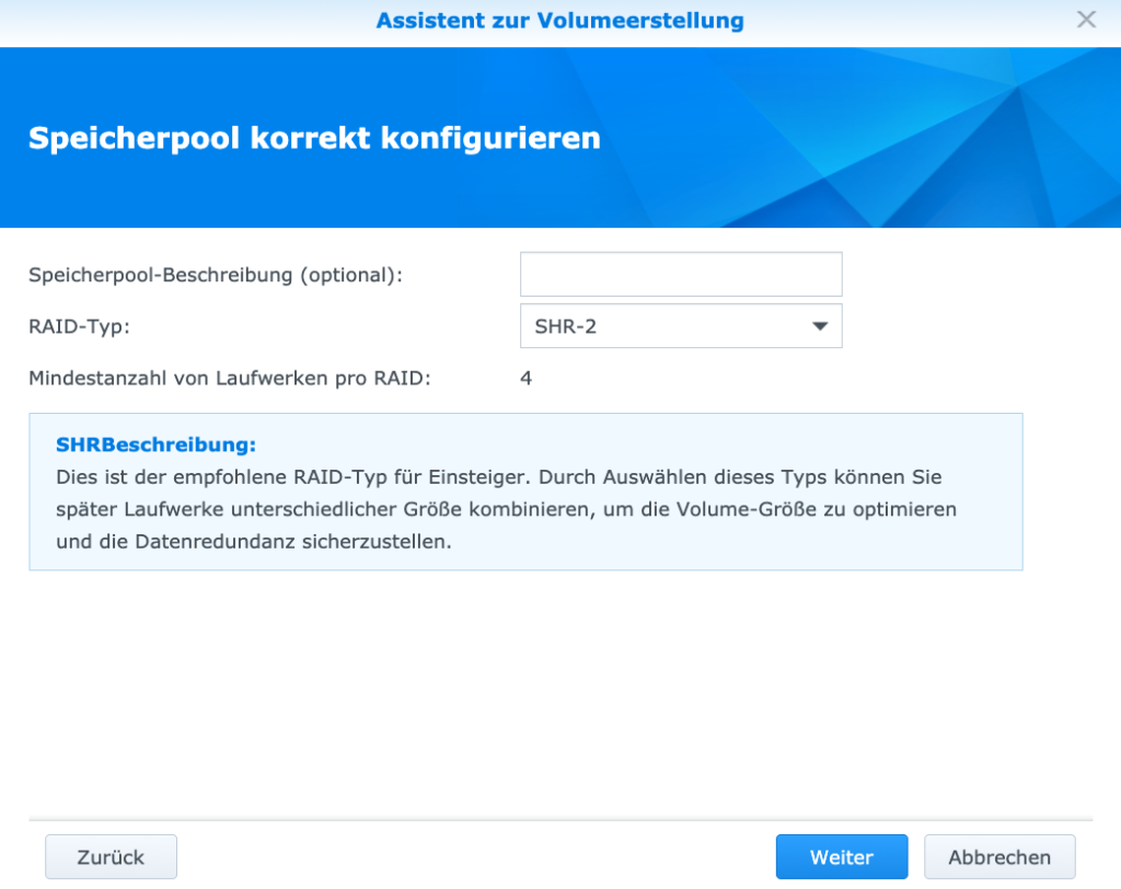 Synology DS220+ Assistent