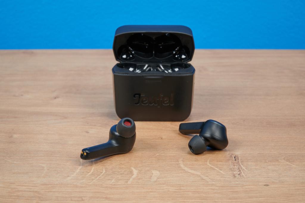 Die Teufel Airy True Wireless mit Ladecase