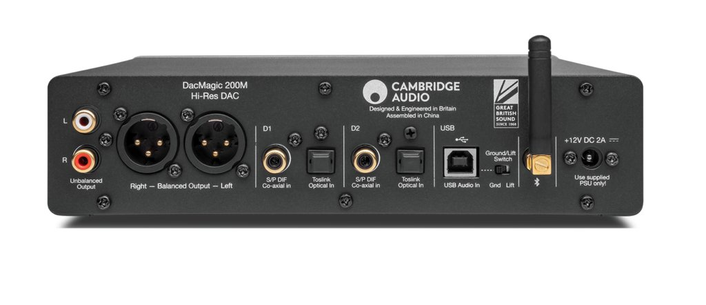 Cambridge Audio DacMagic 200M Back