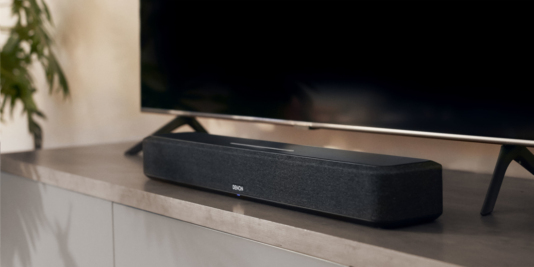 Denon Home Sound Bar 500 im Wohnzimmer