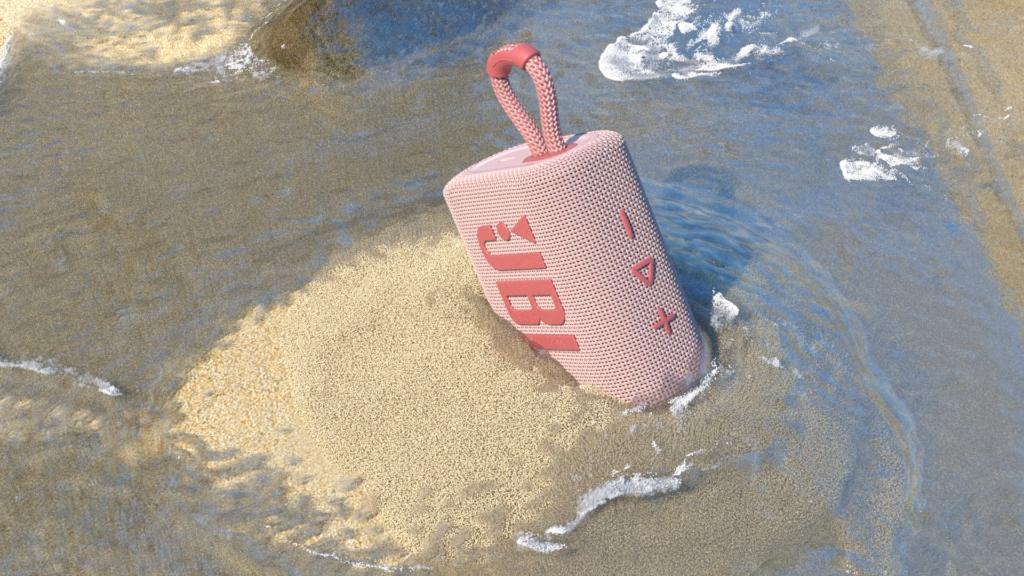 JBL Go 3 pink sand