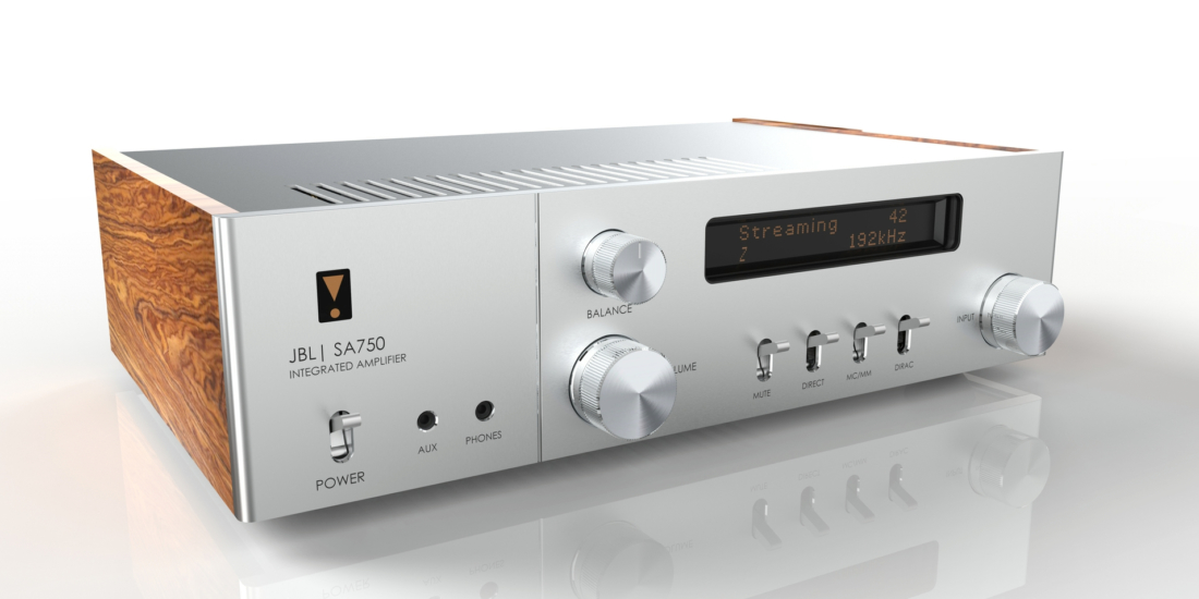 75th Anniversary JBL A750 Integrated Amplifier