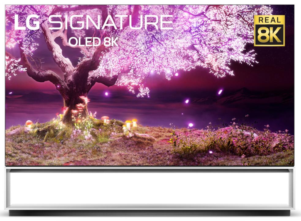 LG TV 2021 Z1 - der 8k OLED