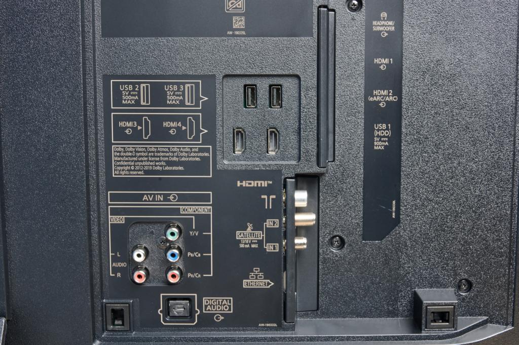 Panasonic HZW2004 Anschluesse