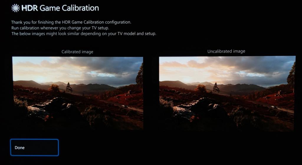 Die Xbox Series X bietet eine systemweite HDR-Kalibrierung an. | Bild: André Westphal