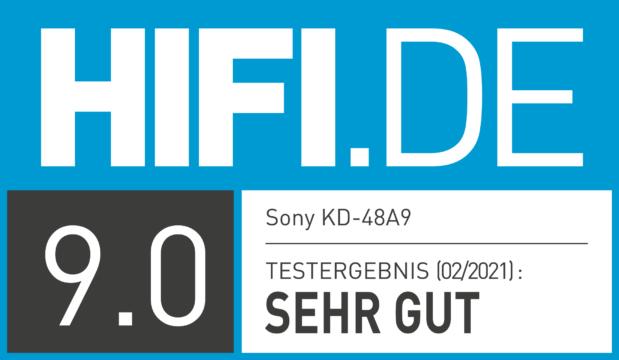 HIFI.DE Testsiegel für Sony A9
