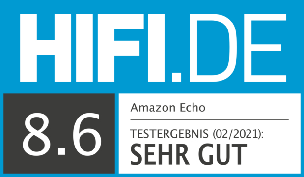 HIFI.DE Testsiegel für Amazon Echo