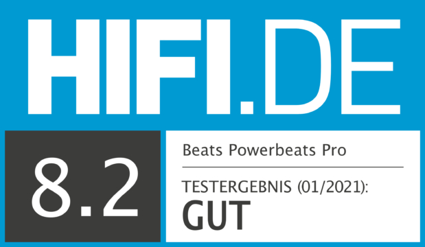 HIFI.DE Testsiegel für Beats Powerbeats Pro