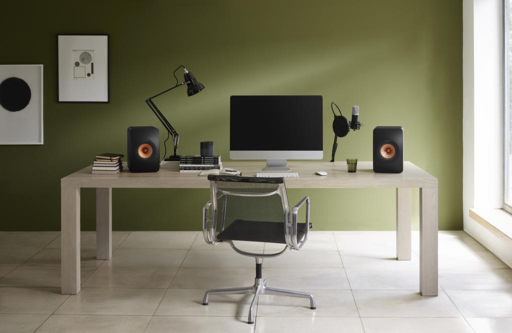 KEF LS50 Wireless II | Schreibtisch