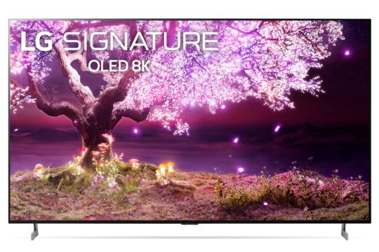 Vorschaubild für Der LG OLED Z1 in der 77 Zoll Variante im Detail