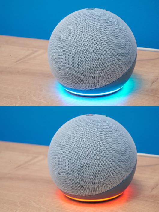 Amazon Echo Dot Lichtring