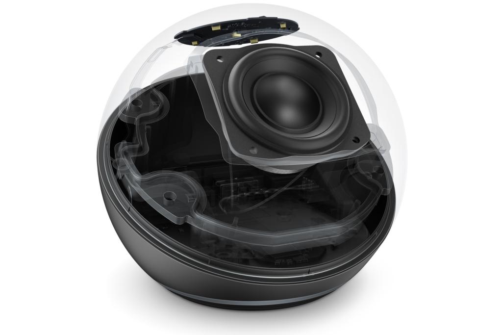 Echo Dot Aufbau innen