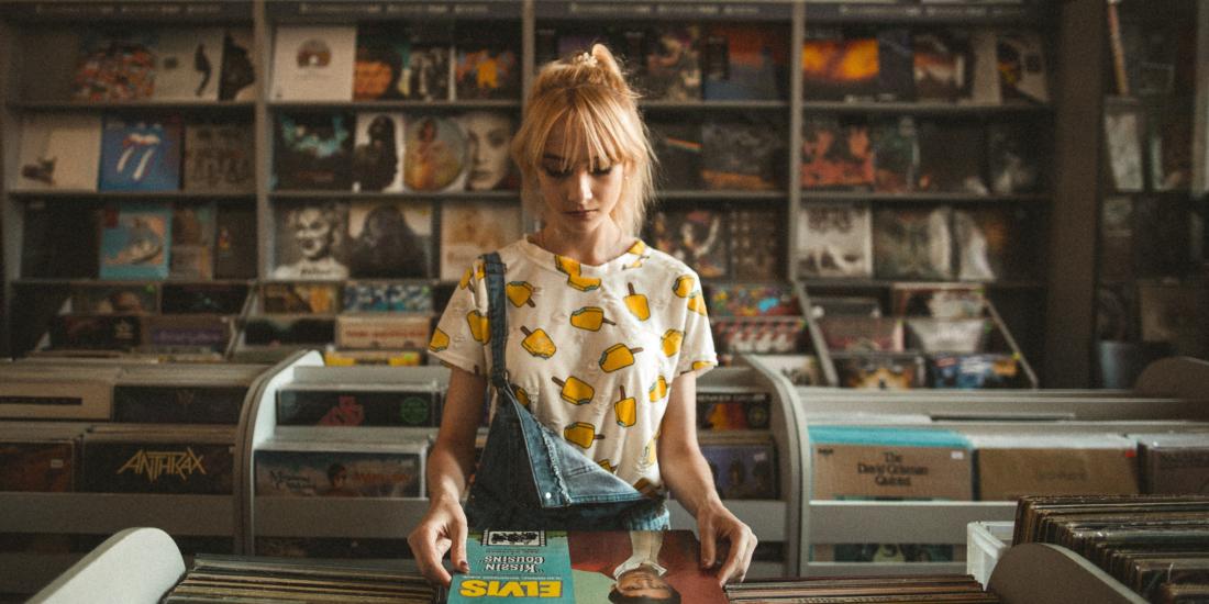 Vinyl Record Store Unsplash