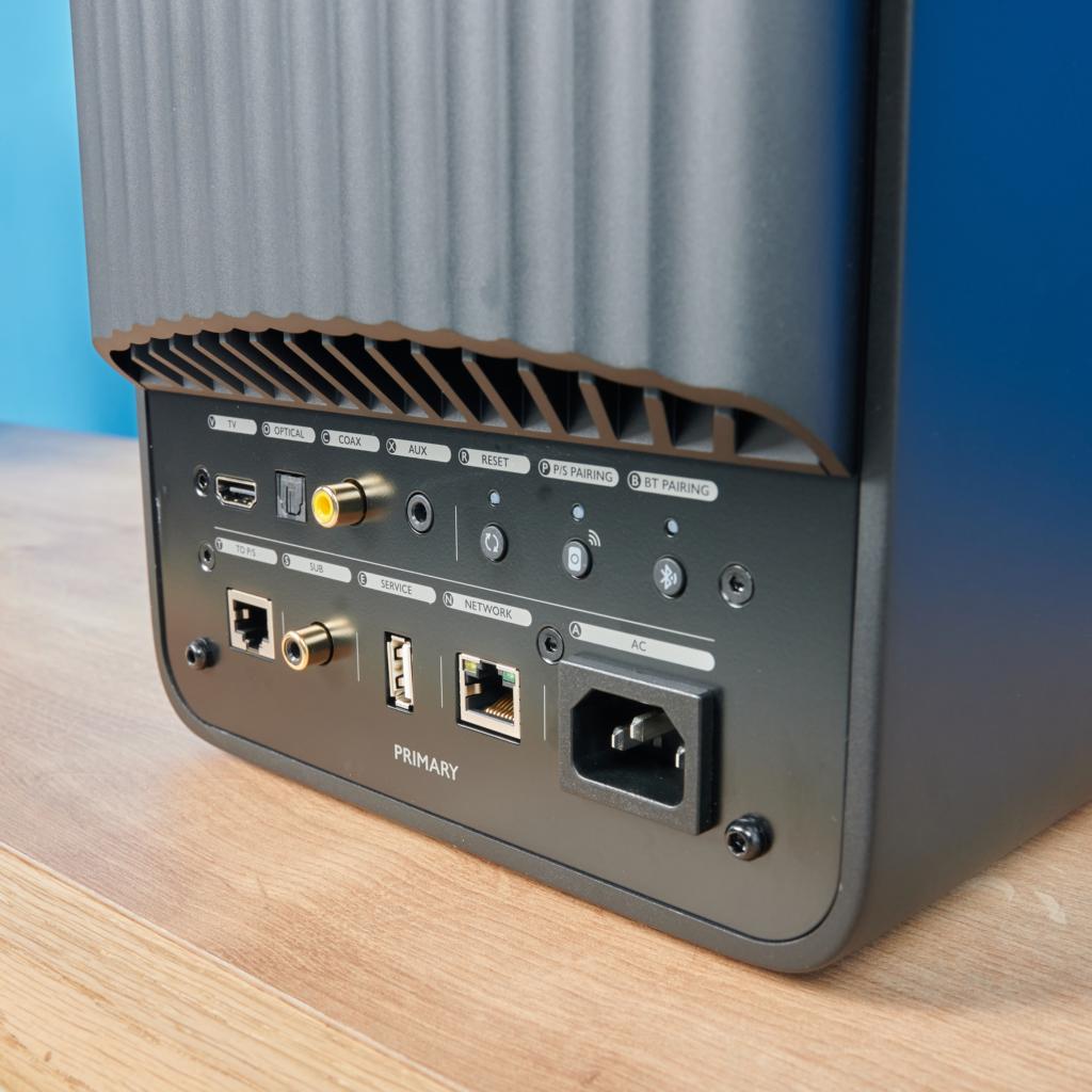 KEF LS50 Wireless II | Anschlüsse